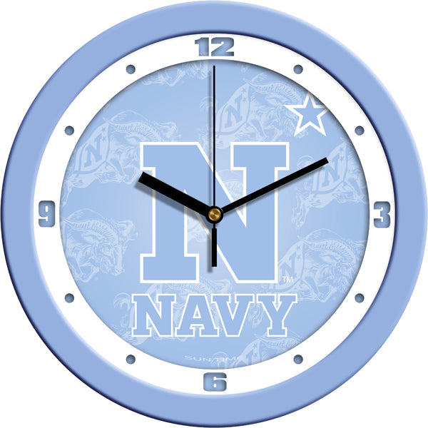 Naval Academy Midshipmen - Baby Blue Wall Clock - SuntimeDirect
