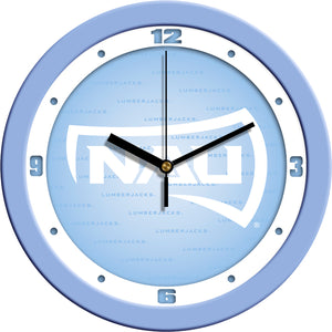 Northern Arizona Lumberjacks - Baby Blue Wall Clock