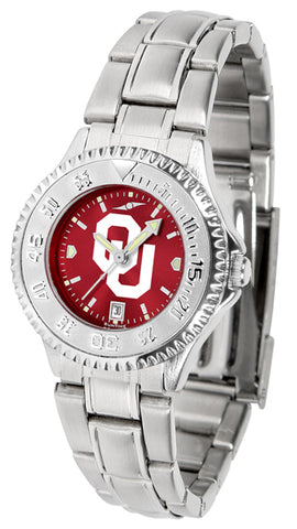Oklahoma Sooners - Ladies' Competitor Watch - SuntimeDirect