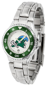 Tulane University Green Wave - Competitor Ladies Steel - SuntimeDirect