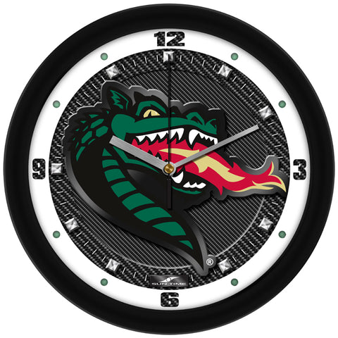 Alabama UAB Blazers - Carbon Fiber Textured Wall Clock - SuntimeDirect