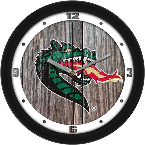 Alabama UAB Blazers - Weathered Wood Wall Clock - SuntimeDirect