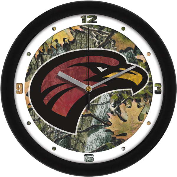 Louisiana Monroe Warhawks  - Camo Wall Clock - SuntimeDirect