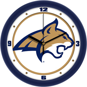 Montana State Bobcats - Traditional Wall Clock
