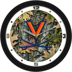 Virginia Cavaliers - Camo Wall Clock