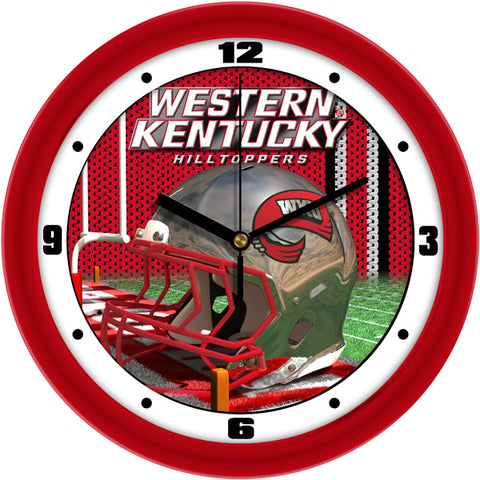 Western Kentucky Hilltoppers - Football Helmet Wall Clock