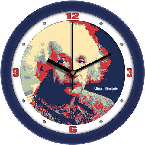 Suntime Historical Series Theoretical Physicist Albert Einstein Wall Clock