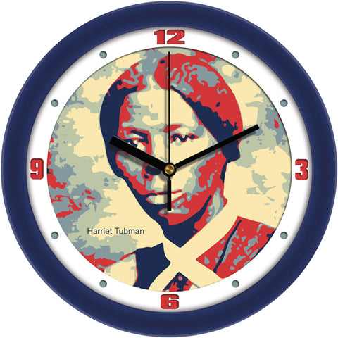 Suntime Historical Series American Abolistionist Hariett Tubman Wall Clock