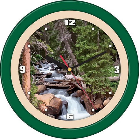 Forest Falls Decorative Wall Clock - SuntimeDirect