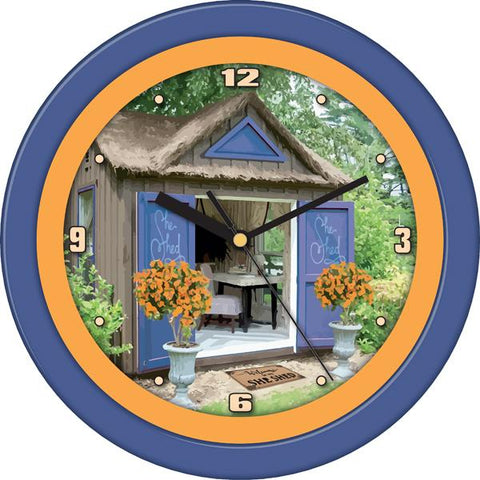 Forest Cottage Decorative Wall Clock - SuntimeDirect