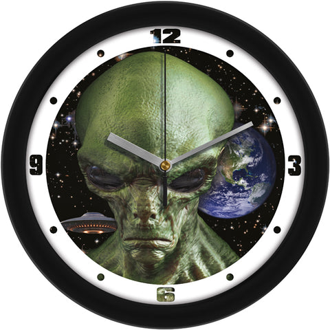 "Hail Our Alien Overlords Sci-Fi Decorative 11.5"" Wall Clock"