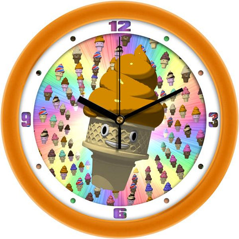Ice Cream Cone Heaven Decorative Wall Clock - SuntimeDirect
