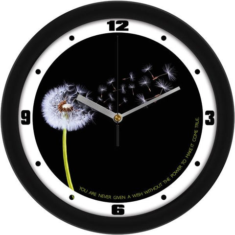 Dandelion Decorative Wall Clock - SuntimeDirect