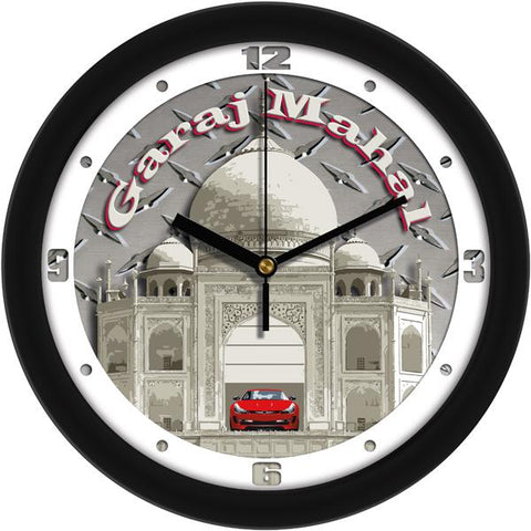 Garage Mahal Decorative Wall Clock - SuntimeDirect