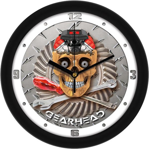 Gearhead Decorative Wall Clock - SuntimeDirect