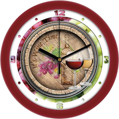 Wine Decorative Wall Clock