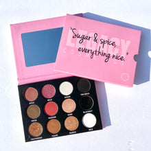 "Load image into Gallery viewer, ""Sugar & Spice"" Eyeshadow Palette"