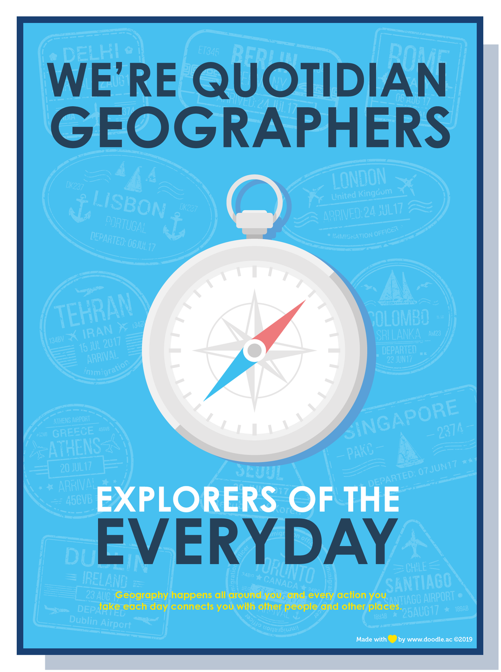 Everyday geographers
