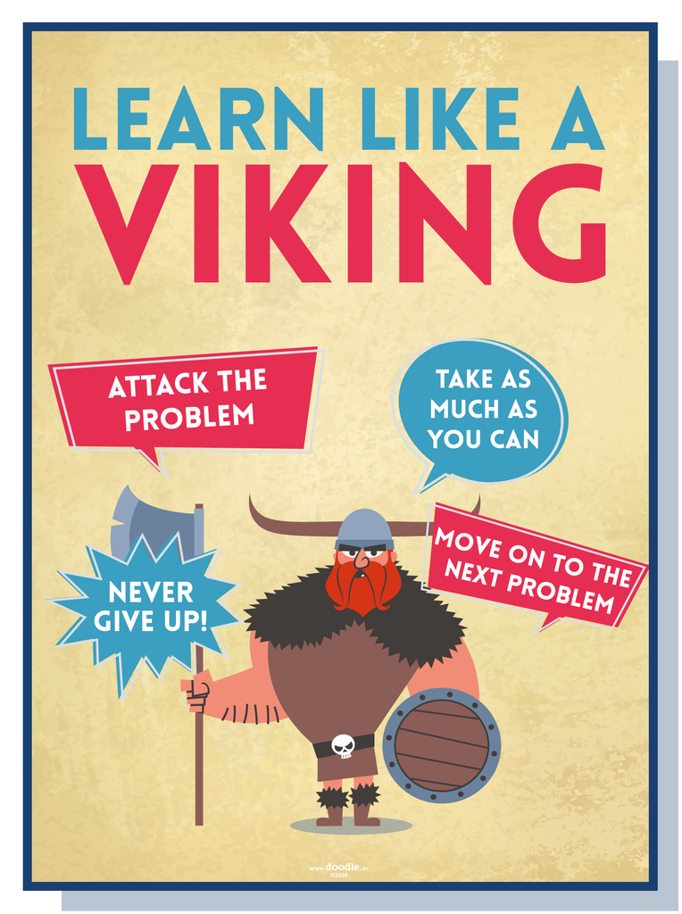 Learn like a viking