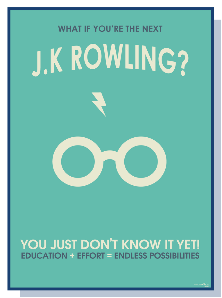 What If you're the next J.K Rowling