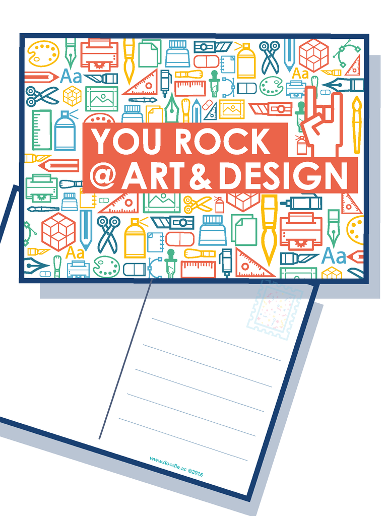 You rock at Art & Design