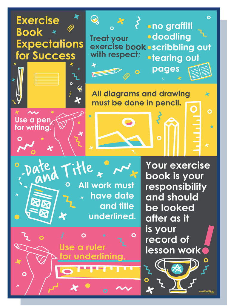 Exercise book expectations