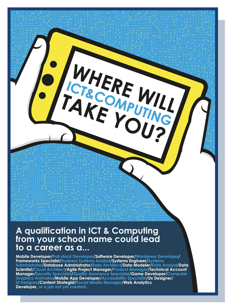 Where will ICT & Computing lead you?