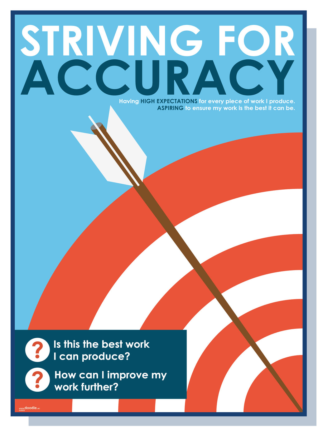 We are striving for accuracy