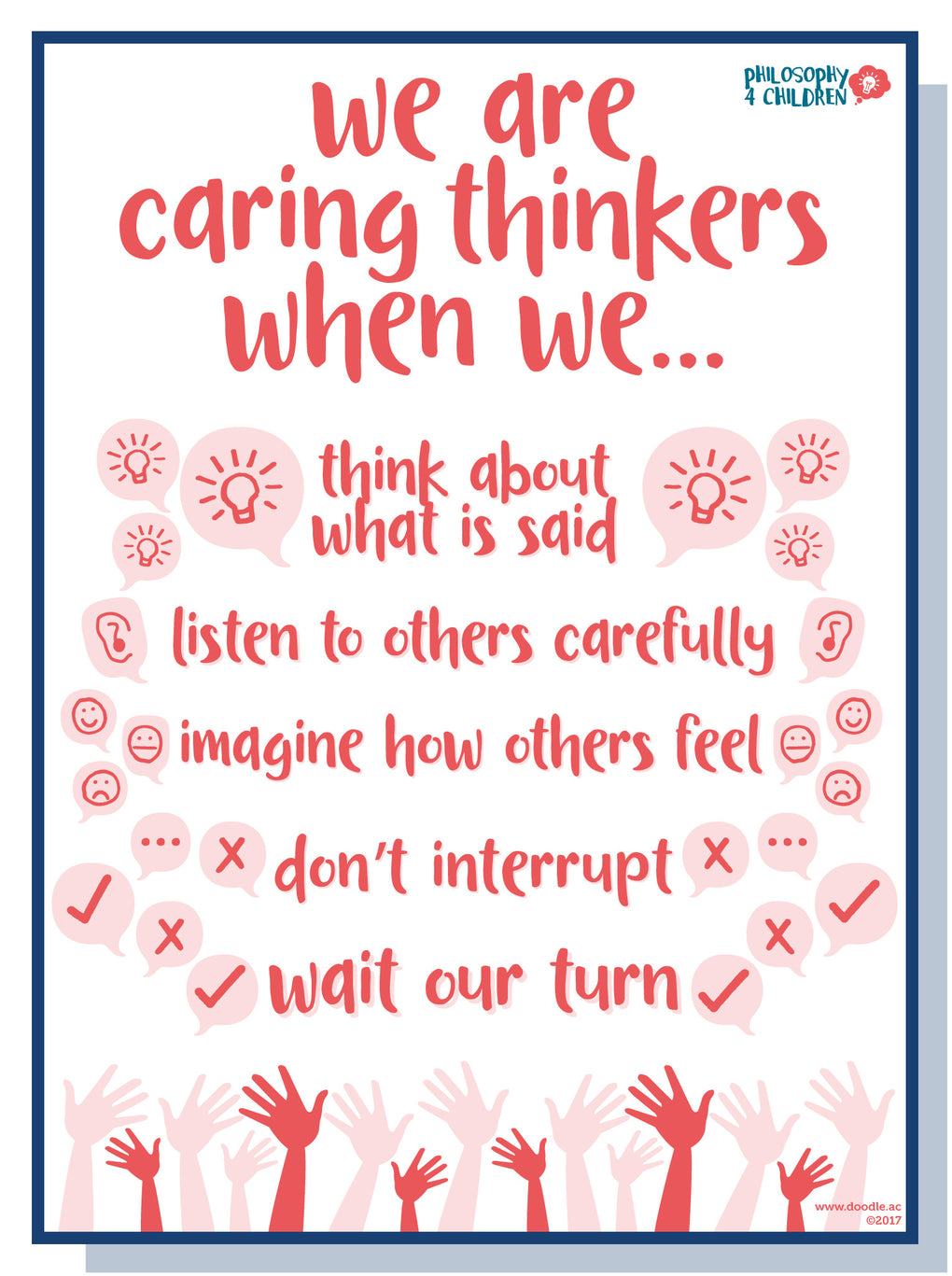 We are caring thinkers