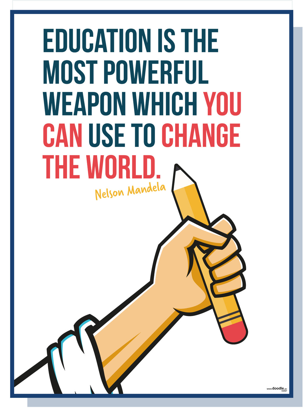 Education is power...