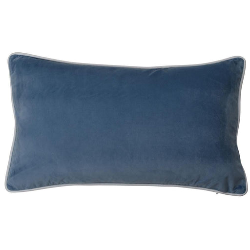 Regina Ocean Velvet Rectangle Cushion Cover, Cushion Cover, Ozark Home