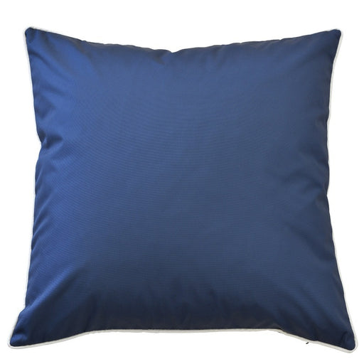 Manila Navy Outdoor Square Cushion Cover, Cushion Cover, Ozark Home