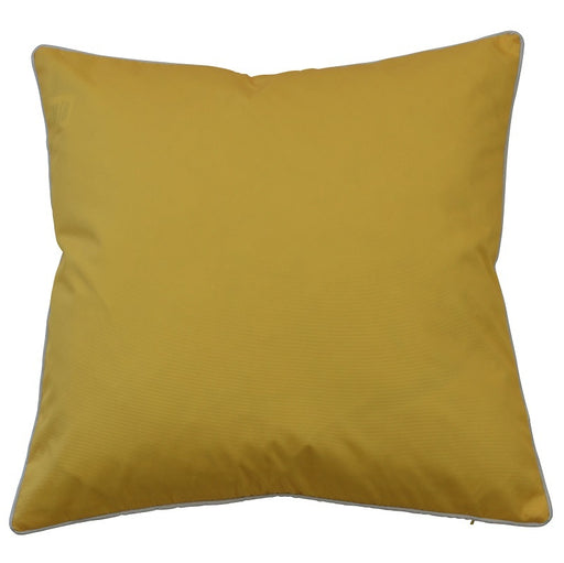Manila Yellow Outdoor Square Cushion Cover, Cushion Cover, Ozark Home
