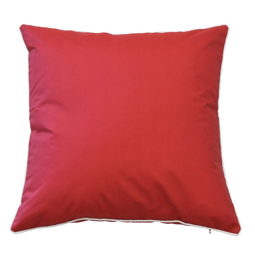 Manila Red Outdoor Square Cushion Cover, Cushion Cover, Ozark Home