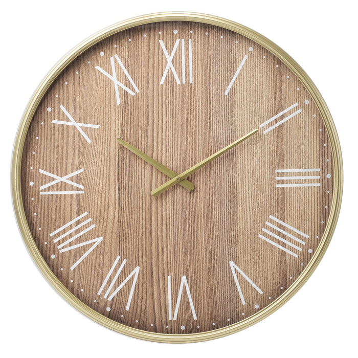 Tommy 60cm Metal Wall Clock New, Wall Clocks, Ozark Home