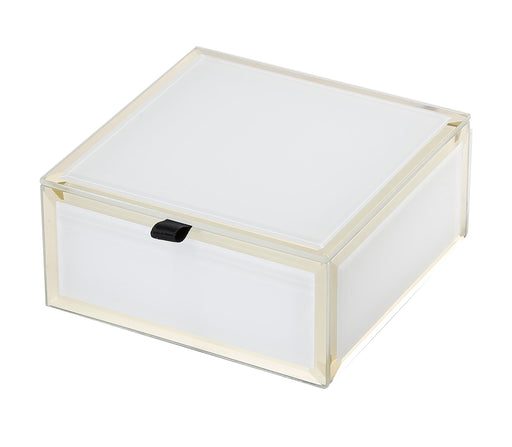 Francesca White Small Jewellery Box New, Jewellery Boxes, Ozark Home