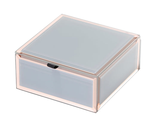 Francesca Grey / Rose Gold Small Jewellery Box New, Jewellery Boxes, Ozark Home