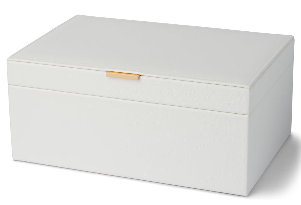 Rose White Large Jewellery Box New, Jewellery Boxes, Ozark Home