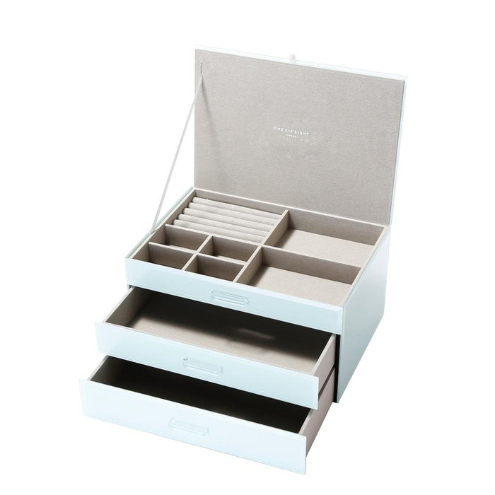Gianna Mint XL Jewellery Box New, Jewellery Boxes, Ozark Home