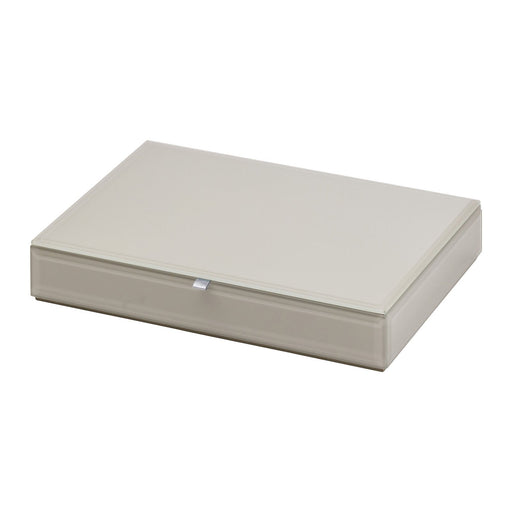 Bella Stackable Jewllery Box With Lid - Grey New, Jewellery Boxes, Ozark Home
