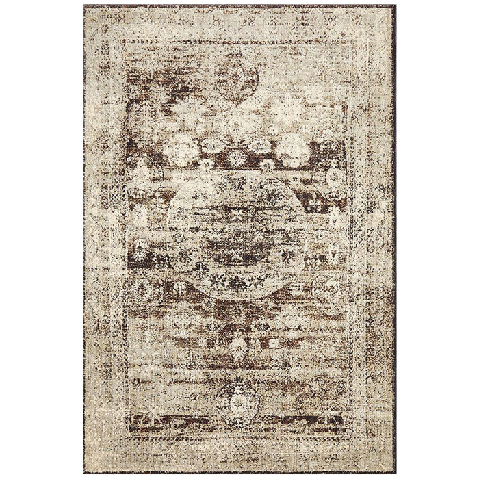 Alexandria Granite Medallion Transitional Contemporary Rug, Rugs, Ozark Home