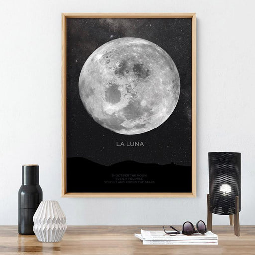 La Luna Moon - Art Print - Ozark Home