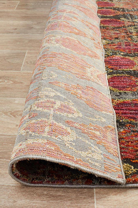 Juhayna Red Faded Transitional Clam Contemporary Rug, Rugs, Ozark Home