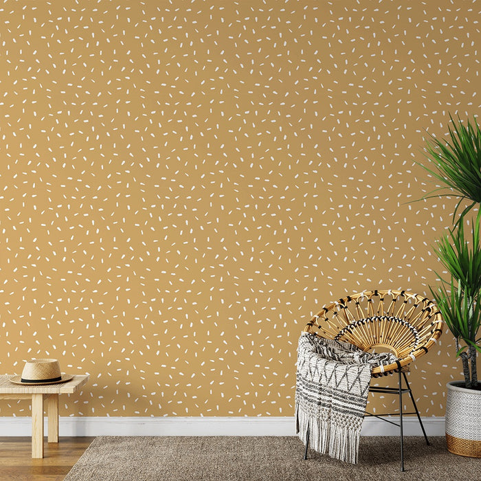 Inverted Dash - Butterscotch - Wallpaper, Wallpaper, Ozark Home