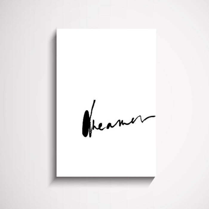 Dreamer Script Handwritten Wall Art Print, Prints, Ozark Home