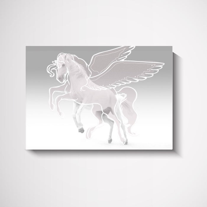 Freedom Unicorn Kids Bedroom Wall Art Print, Prints, Ozark Home