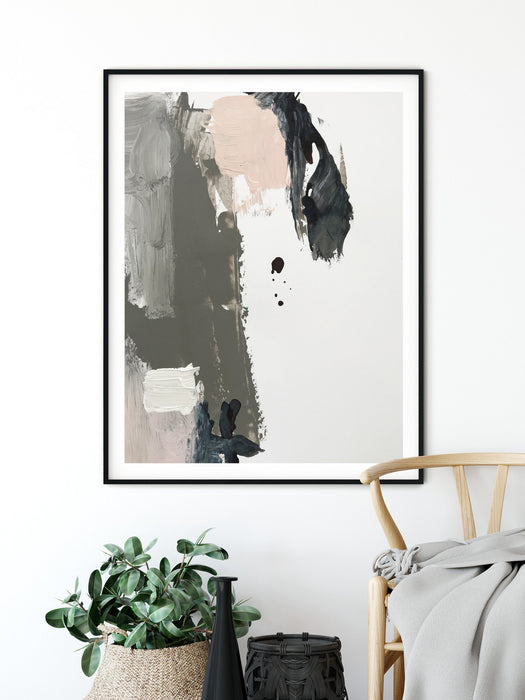Vibe Abstract Painting Interior Art Print, Prints, Ozark Home