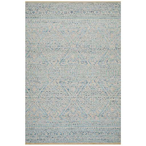 Raipur Blue & Grey Bohemian Arrow Handwoven Wool Rug, Rugs, Ozark Home