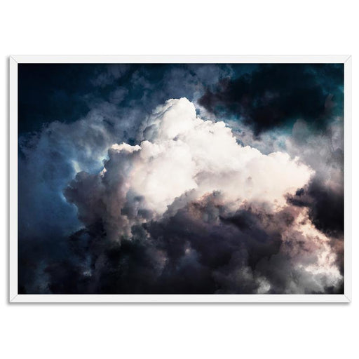 Dark Stormy Clouds in the Sky I - Art Print, Wall Art, Ozark Home