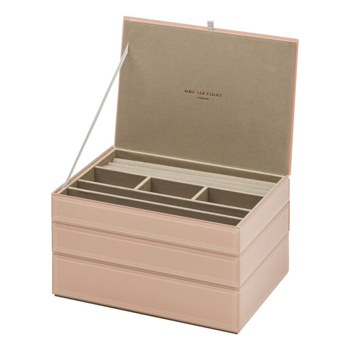 Bella Stackable Jewellery Box Set - Blush New, Jewellery Boxes, Ozark Home